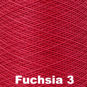 3/2 Mercerized Perle Cotton-Weaving Cones-Fuchsia 3-