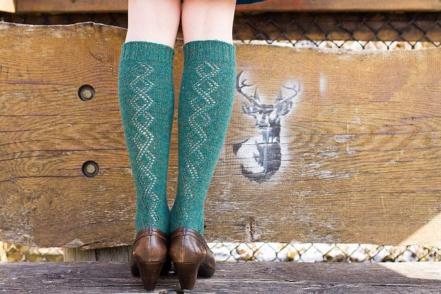 Juniper Moon Farms Gallium Knee Socks