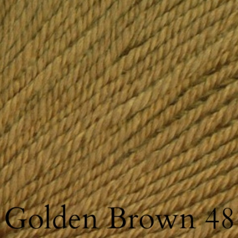 Ella Rae Cozy Soft Solids Yarn Golden Brown 48 - 40