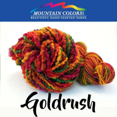 Mountain Colors Twizzlefoot Yarn Goldrush - 21