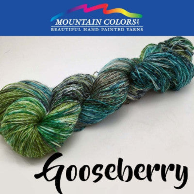Mountain Colors Twizzlefoot Yarn Gooseberry - 22