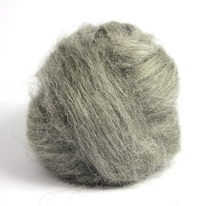 Paradise Fibers Grey Gotland Wool-Fiber-4oz-