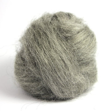 Paradise Fibers Grey Gotland Wool (4 oz bag)