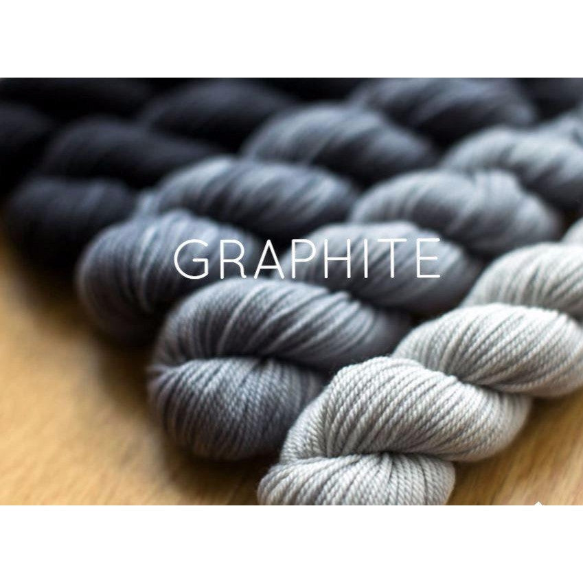 Sweet Georgia Yarns Party of Five Mini-Skein Sets Graphite - 6