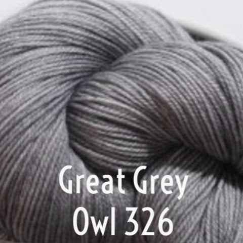 Paradise Fibers Yarn MadelineTosh Twist Light Yarn Great Grey Owl 326 - 48