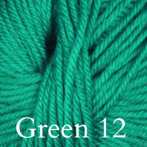 Ella Rae Cozy Soft Solids Yarn Green 12 - 7