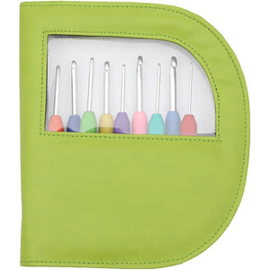Waves Crochet Hook Set by Knitter's Pride Green - 3