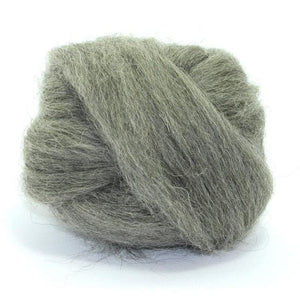 Paradise Fibers Norwegian Wool Top-Fiber-Grey-4oz-