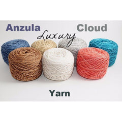Paradise Fibers Yarn Anzula Luxury Cloud Yarn  - 2