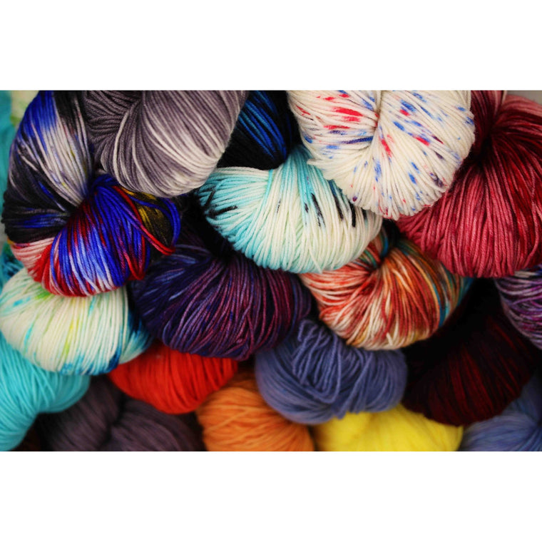 Ancient Arts Yarn - 8 Ply Cabled Heavy Fingering / Sport Weight  - 1
