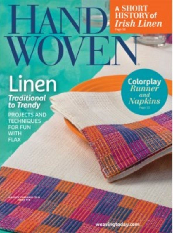 Handwoven Magazine - Jan/Feb 2016