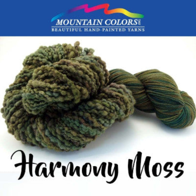 Mountain Colors Twizzlefoot Yarn Harmony Moss - 33