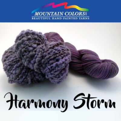 Mountain Colors Twizzlefoot Yarn Harmony Storm - 39