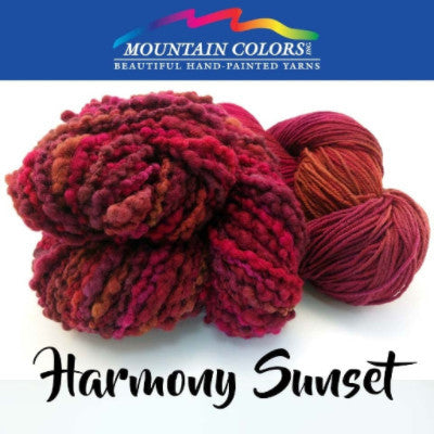 Mountain Colors Twizzlefoot Yarn Harmony Sunset - 40
