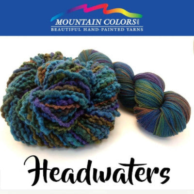 Mountain Colors Twizzlefoot Yarn Headwaters - 43