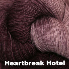 Paradise Fibers Yarn Three Irish Girls Adorn Sock Yarn Heartbreak Hotel - 13