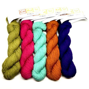 HiKoo CoBaSi Yarn - Sock/Fingering Weight-Yarn-Paradise Fibers