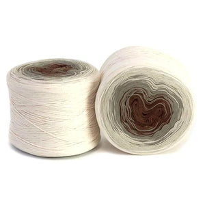 Hikoo Concentric Cotton Yarn - Au Natural-Yarn-Paradise Fibers