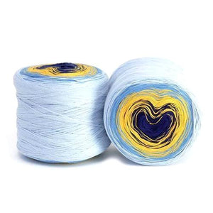 Hikoo Concentric Cotton Yarn - Nautical-Yarn-