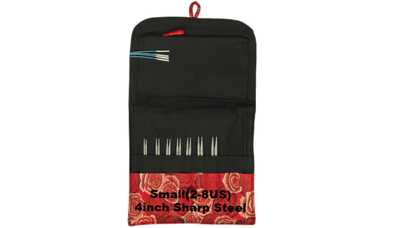 HiyaHiya Sharp Interchangeable Knitting Needle Set Small (2-8US) / 4 inch - 1