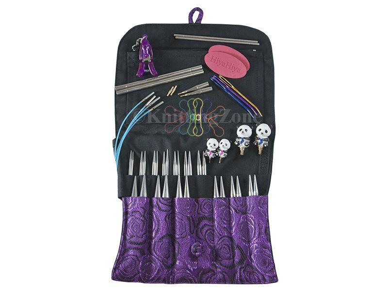 "HiyaHiya 5"" Sharp LIMITED EDITION Interchangeable Set-Interchangeable Needle Set-Paradise Fibers"