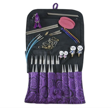 "Paradise Fibers Interchangeable Needle Set HiyaHiya 4"" Sharp LIMITED EDITION Interchangeable Set"