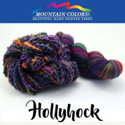 Mountain Colors Twizzlefoot Yarn Hollyhock - 44