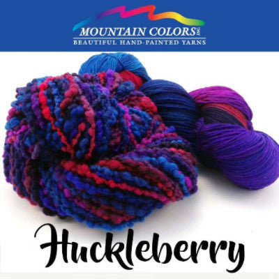 Mountain Colors Twizzlefoot Yarn Huckleberry - 45