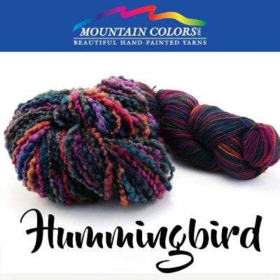 Mountain Colors Twizzlefoot Yarn Hummingbird - 46