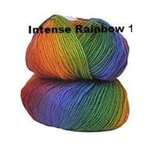Crystal Palace Mini Mochi Yarn Intense Rainbow 101 - 25
