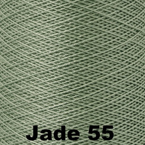 3/2 Mercerized Perle Cotton-Weaving Cones-Jade 55-