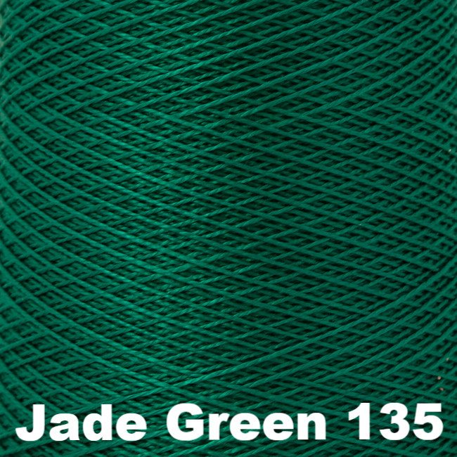 5/2 Perle Cotton 1lb Cones Jade Green 135 - 48