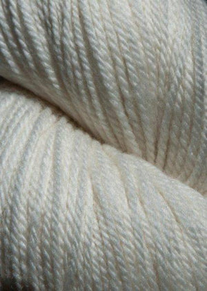 Jagger Spun Green Line Organic Cone - Ivory-Weaving Cones-Paradise Fibers