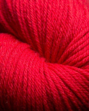 Jagger Spun Super Lamb 4/8 Worsted Weight Cone - Garnet-Weaving Cones-
