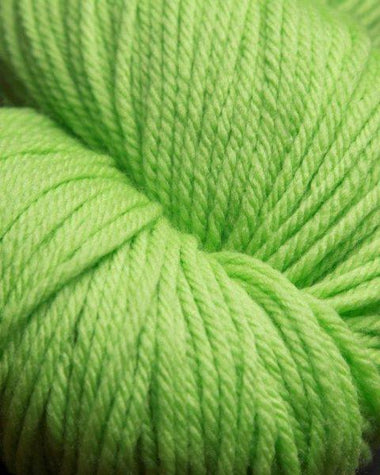 Jagger Spun Super Lamb 4/8 Worsted Weight Cone - Green Apple-Weaving Cones-Paradise Fibers