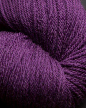 Jagger Spun Super Lamb 4/8 Worsted Weight Cone - Plum-Weaving Cones-Paradise Fibers