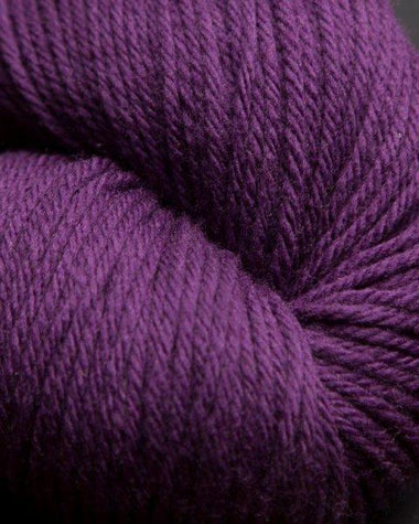 Jagger Spun Super Lamb 4/8 Worsted Weight Cone - Plum