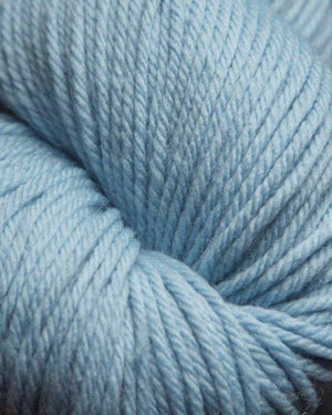 Jagger Spun Super Lamb 4/8 Worsted Weight Cone - Powder Blue-Weaving Cones-