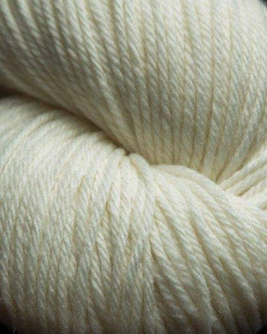 Jagger Spun Super Lamb 4/8 Worsted Weight Cone - Snow