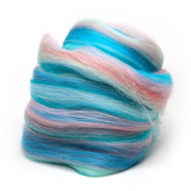 Fiber Of The Month ( July 2017 ) Multi Merino Blend - Ponyo-Fiber-Paradise Fibers-1oz-Paradise Fibers