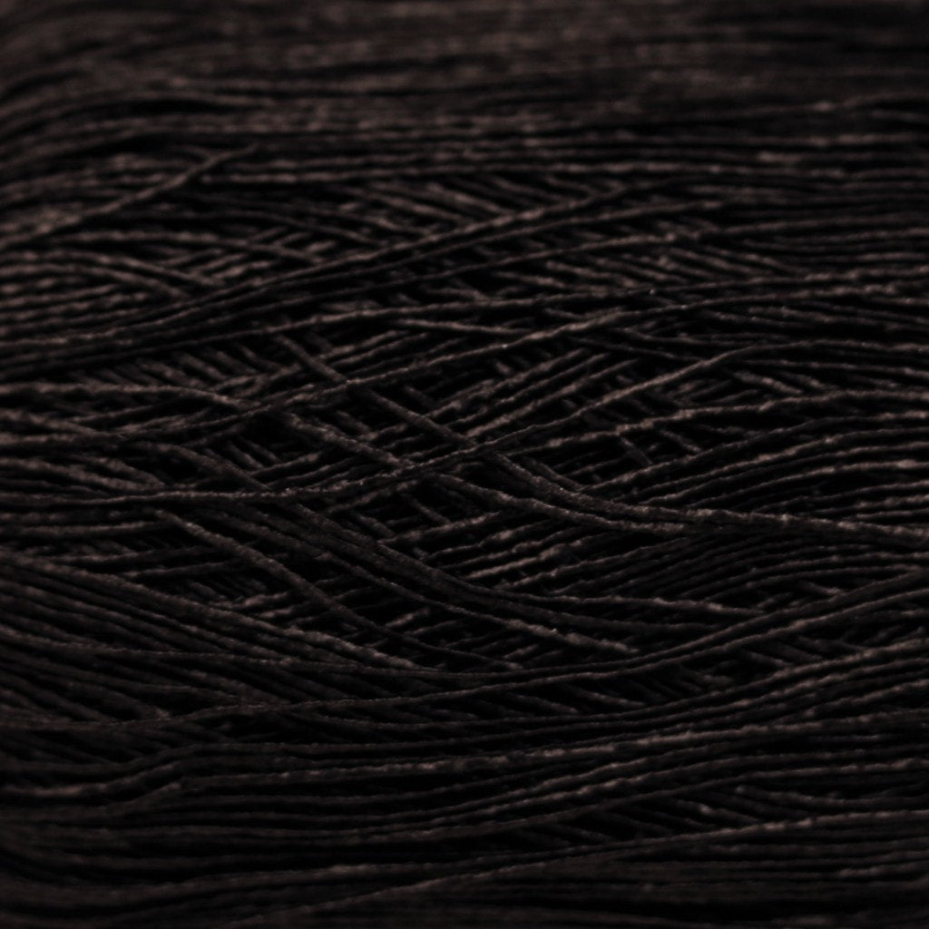 Paradise Fibers Yarn Katia Syros Crochet & Tatting Yarn Thread - Black