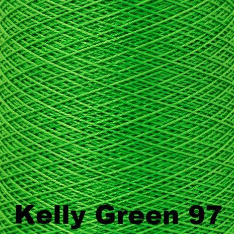 10/2 Perle Cotton 1lb Cones Kelly Green 97 - 69