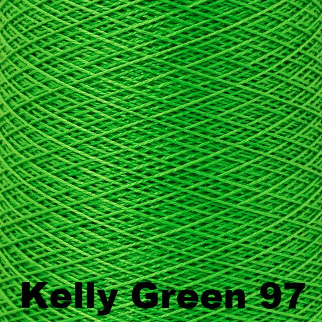 5/2 Perle Cotton 1lb Cones Kelly Green 97 - 69