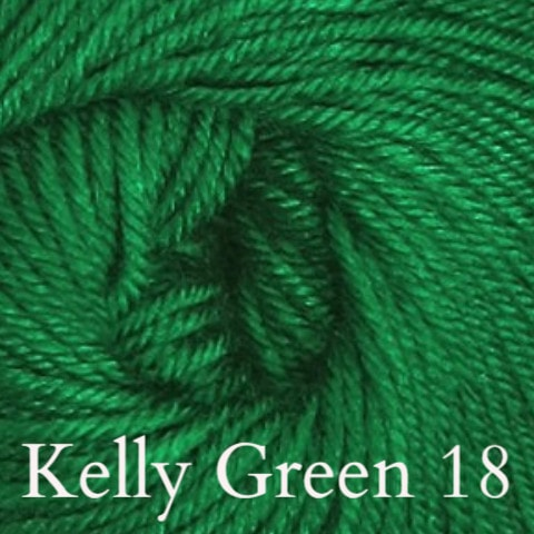 Ella Rae Cozy Soft Solids Yarn Kelly Green 18 - 10