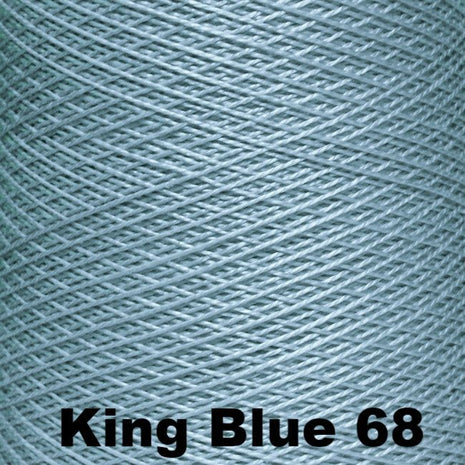 5/2 Perle Cotton 1lb Cones King Blue 68 - 35