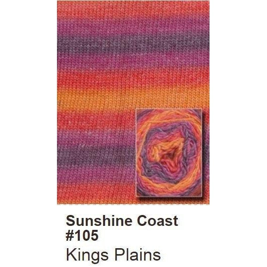 Queensland Collection Sunshine Coast Yarn Kings Plains 105 - 7