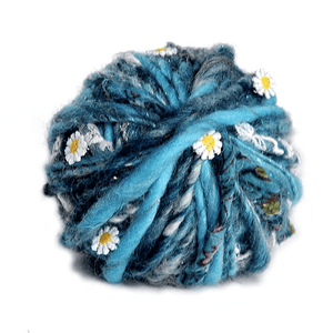 Knit Collage Daisy Chain Yarn - Frosted Azure-Yarn-