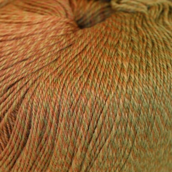 Paradise Fibers Yarn Knitting Fever Painted Desert - Different Gold
