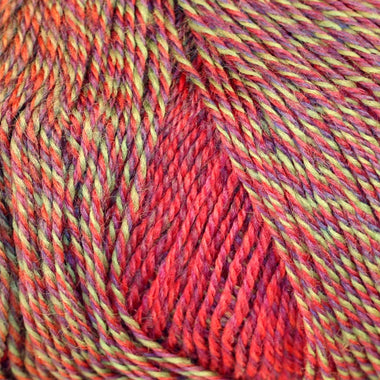 Paradise Fibers Yarn Knitting Fever Painted Desert - Eruption