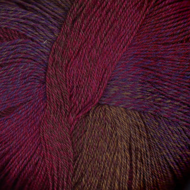 Paradise Fibers Yarn Knitting Fever Painted Desert - Strawberry Gold